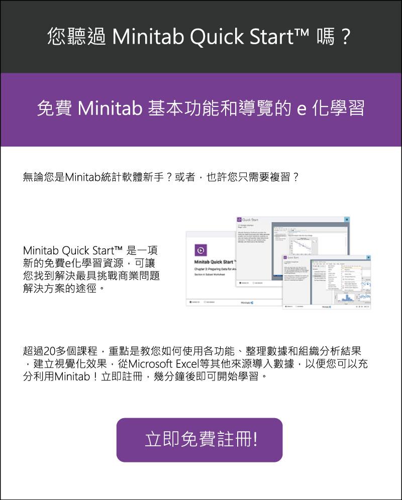 Minitab Quick Start
